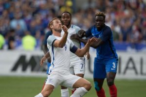 France-Benjamin-mendy-vs-england-raheem-sterling