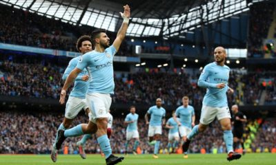 Sergio-aguero-equals-Eric-brook-man-city-record-177-goals