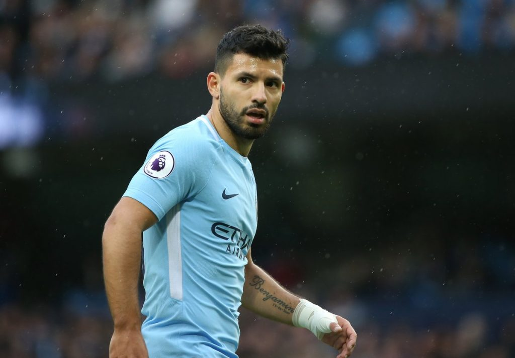 Sergio-aguero-equals-Eric-brook-man-city-record-with-his-177-goal