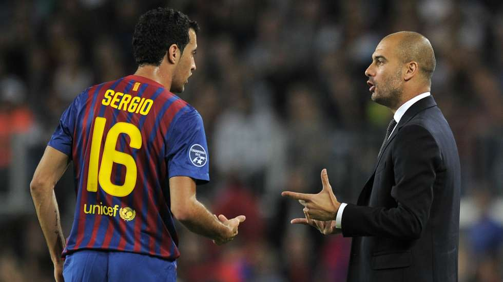 Sergio-Busquets-and-Pep-Guardiola