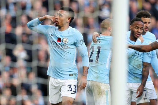 Manchester-City-v-Arsenal-Premier-League-Etihad-Stadium-gabriel-jesus