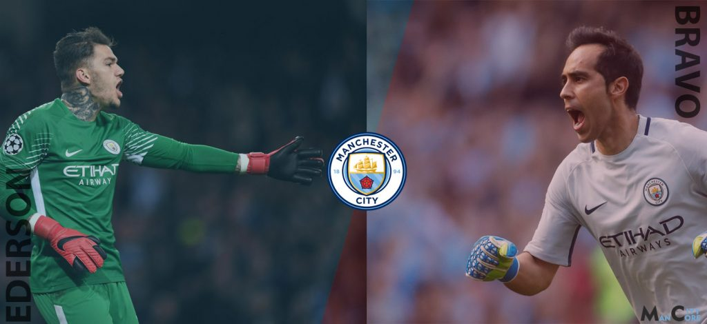 b3596717f71 We put these two goalkeeper of Manchester City under microscope to help you  choose between these shot stoppers according to their potential