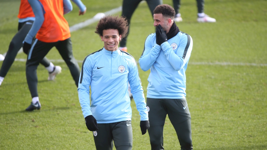 leroy-sane-return-training