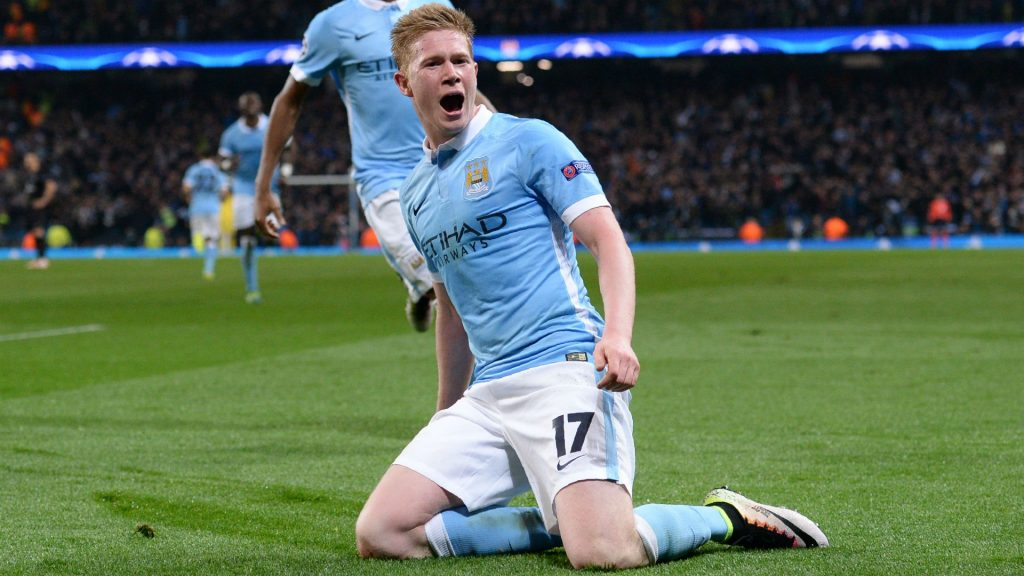 De Bruyne Premier League title Manchester United