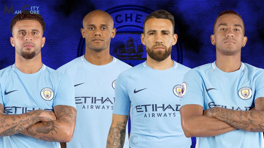 Man_City_defenders_Otamendi_Kyle_walker_Kompany_Danilo