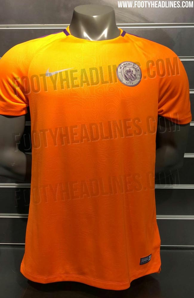 new style c446c 09088 Man City 2018/19 special Champions League training kit 'leaked'