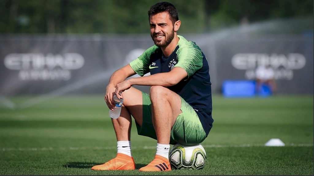 Bernardo-Silva-man-city-training-liverpool-us-tour