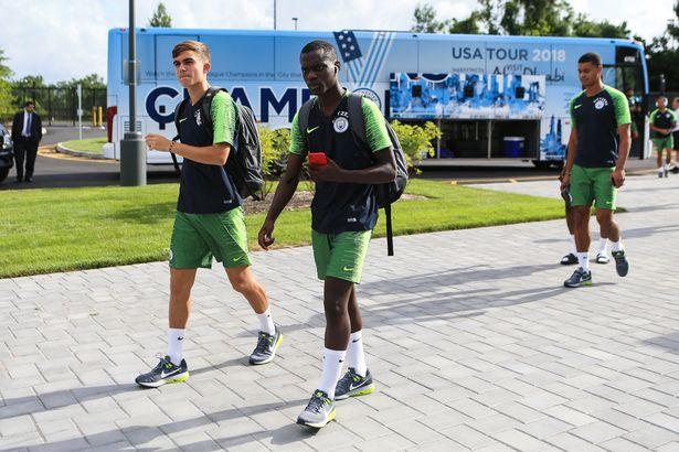 Caludio Gomes_Manchester-City-Pre-Season-Training