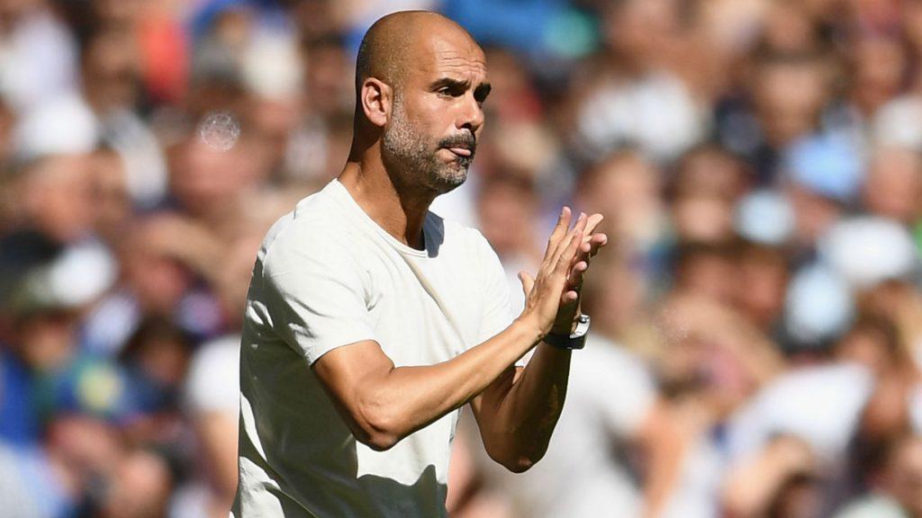 pep-guardiola-manchester-city-starting-XI-line-up-arsenal-premier-league