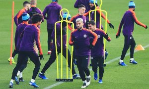 man-city-training-lyon-champions-league