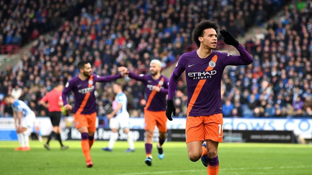 huddersfield-man-city-2019-leroy-sane