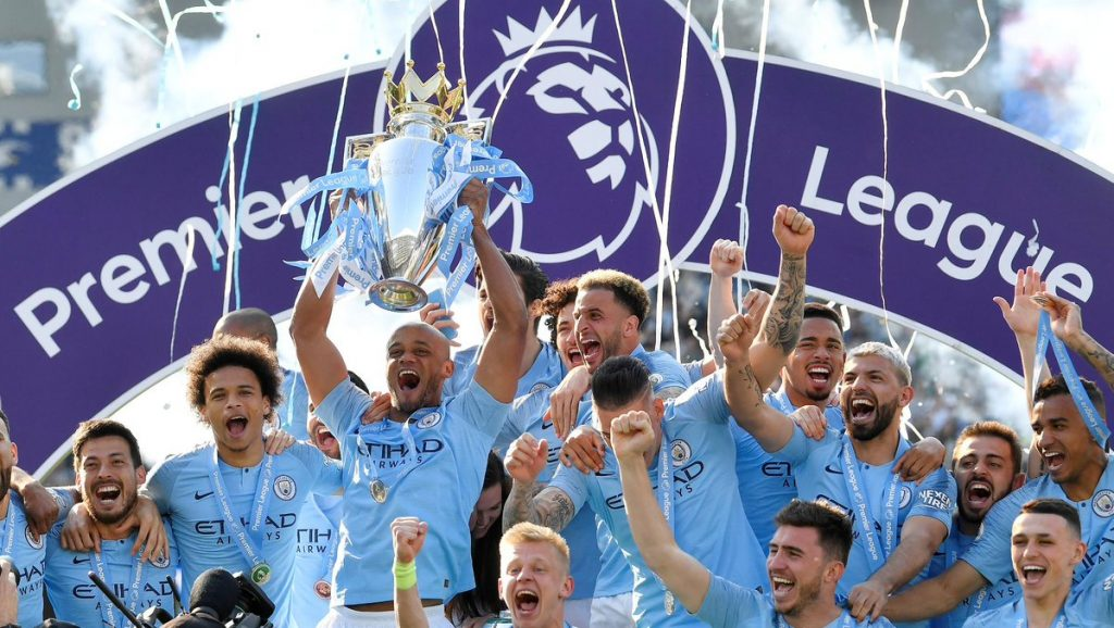 Image result for man city 2018/19 trophies
