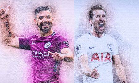 Aguero vs Harry Kane_Mancity-Tottenham