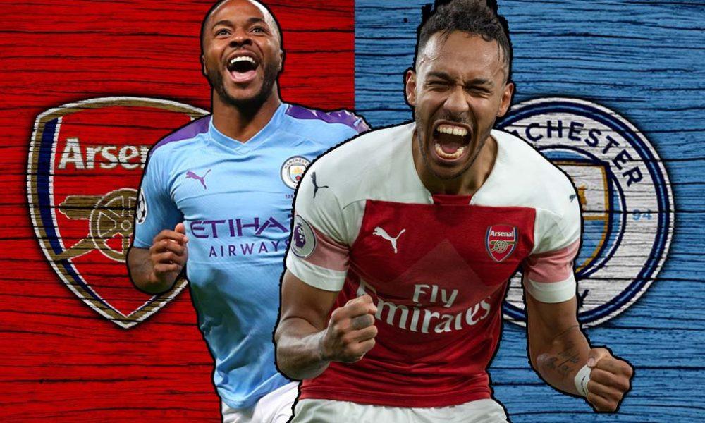 Aubameyang vs Raheem Sterling   Arsenal vs Manchester City