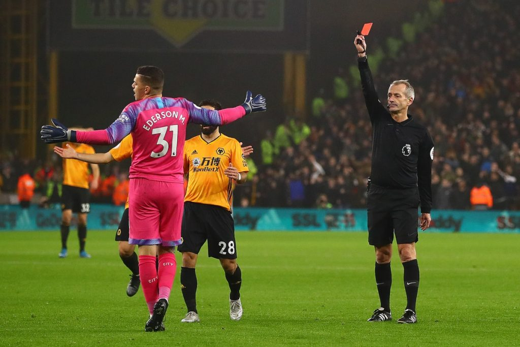 ederson-wolves-red-card