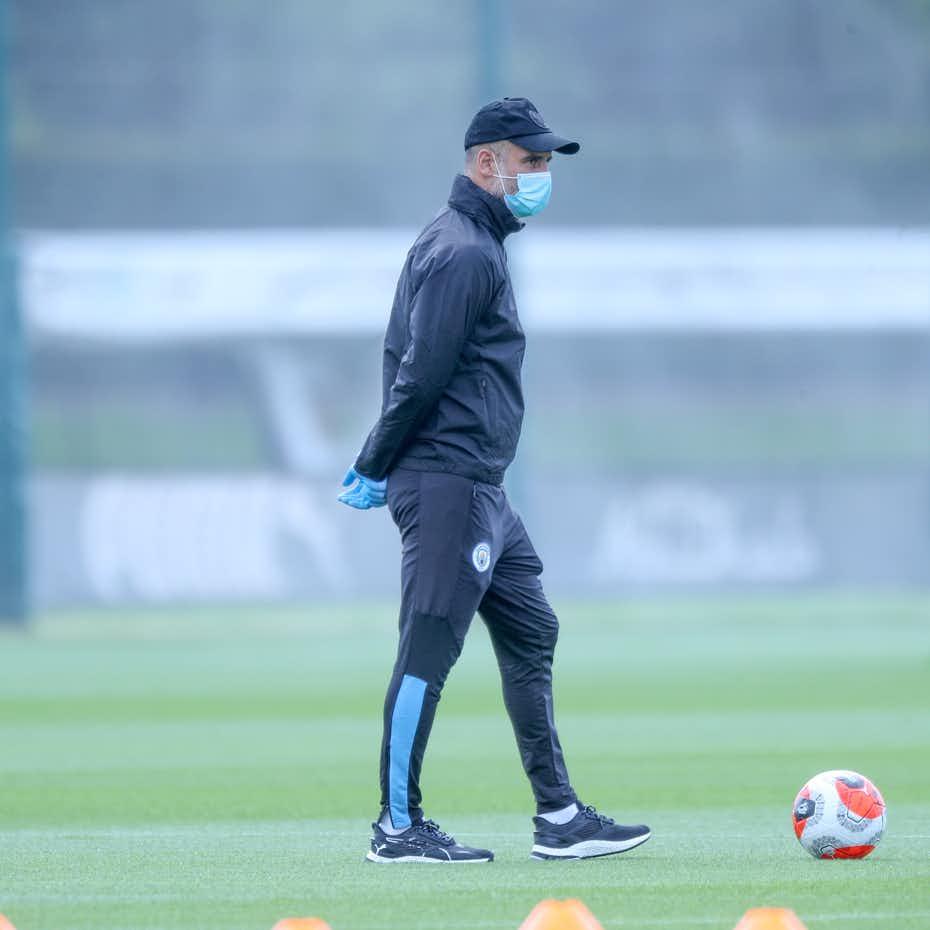pep-guardiola-manchester-city-return-training
