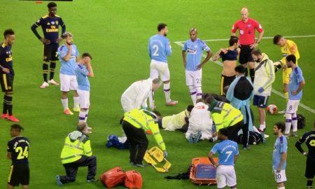 Eric-Garcia-injury-ederson-vs-arsenal
